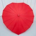 Rent: Red Heart Wedding Umbrella