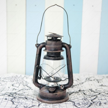 Vintage Gas Lamp (Bronze)