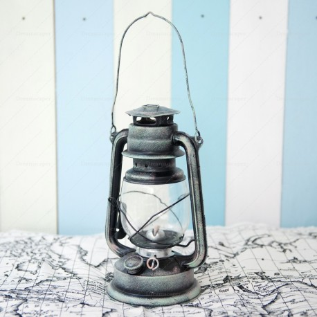 Old School Gas Lamp (Silver)