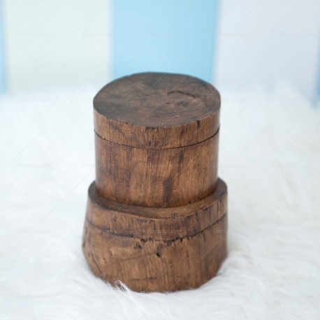 Wooden Stump Display Box