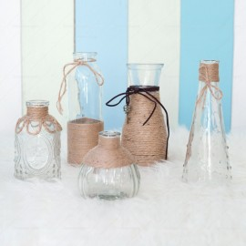 Rustic Glass Vases