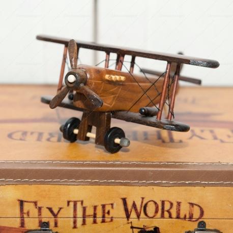 Retro Wooden Air Plane
