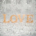 Rent: Wooden Alphabets LOVE