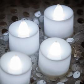 Rent: White Tea Lights Candles Set