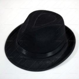 Rent: Black Fedora Hat