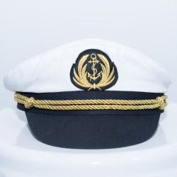 Nautical Marine Captain Hat