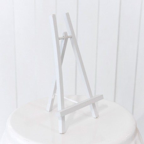 Wooden Table Easel (White)