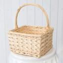 Rent: Rattan Basket (Light Beige)