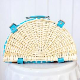Polka Dots Picnic Basket
