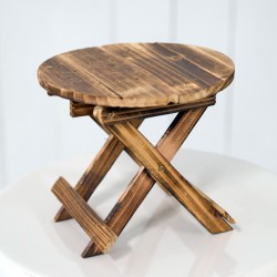 Rent: Wooden Riser Table