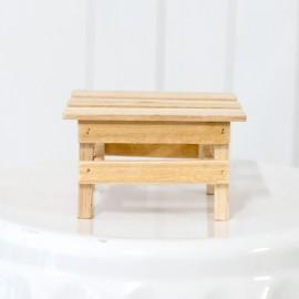 Wooden Riser Bench