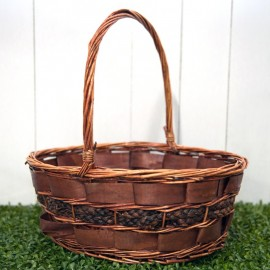 Rattan Basket (Dark Brown)