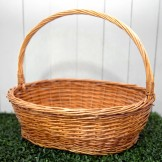 Rent: Rattan Basket (Orange)