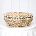 Rent: Rattan Basket with lid (Medium)
