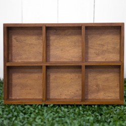 Rent: Wooden Display Box Type B