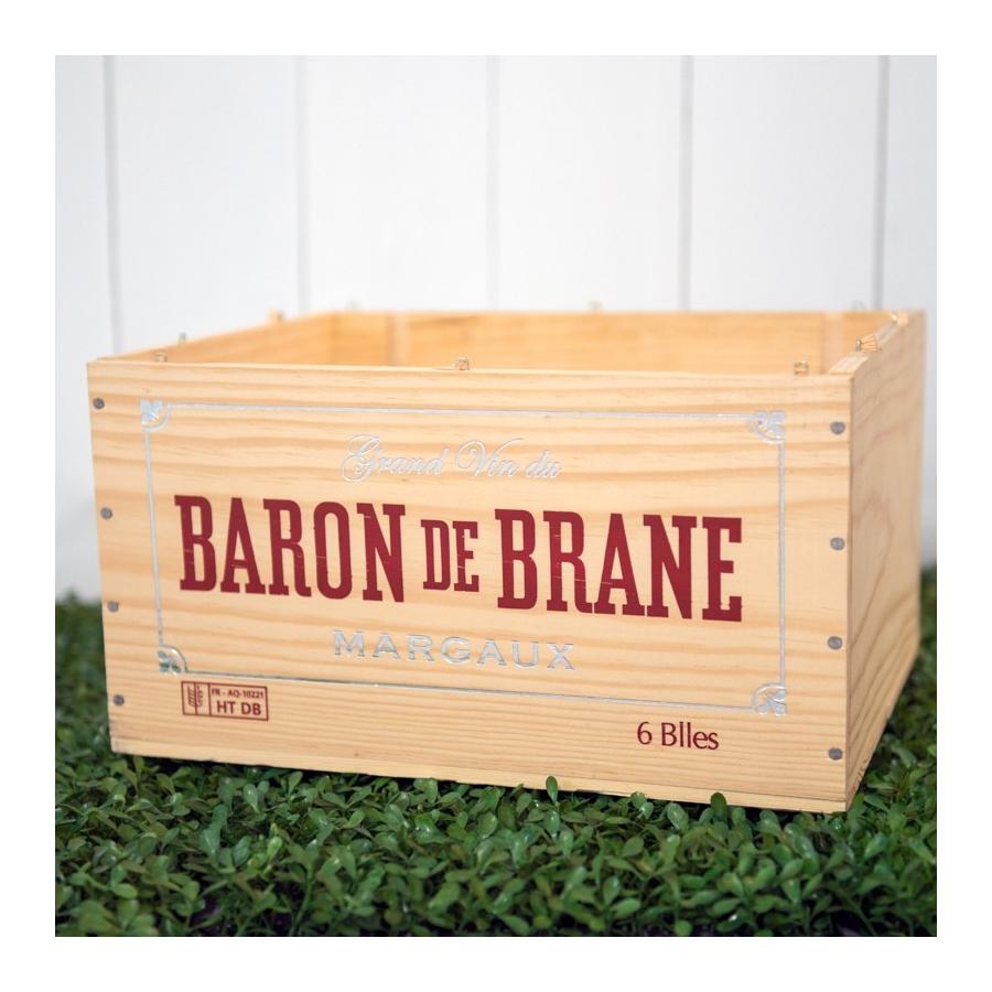 Rent: Wooden Wine Crate Baron
