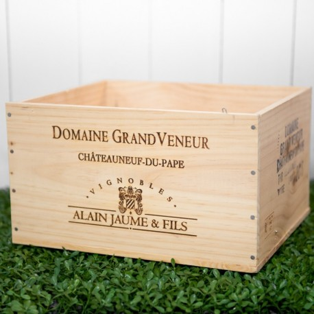 Wooden Wine Crate Domaine