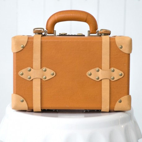 Rent: Retro Leather Suitcase (small)