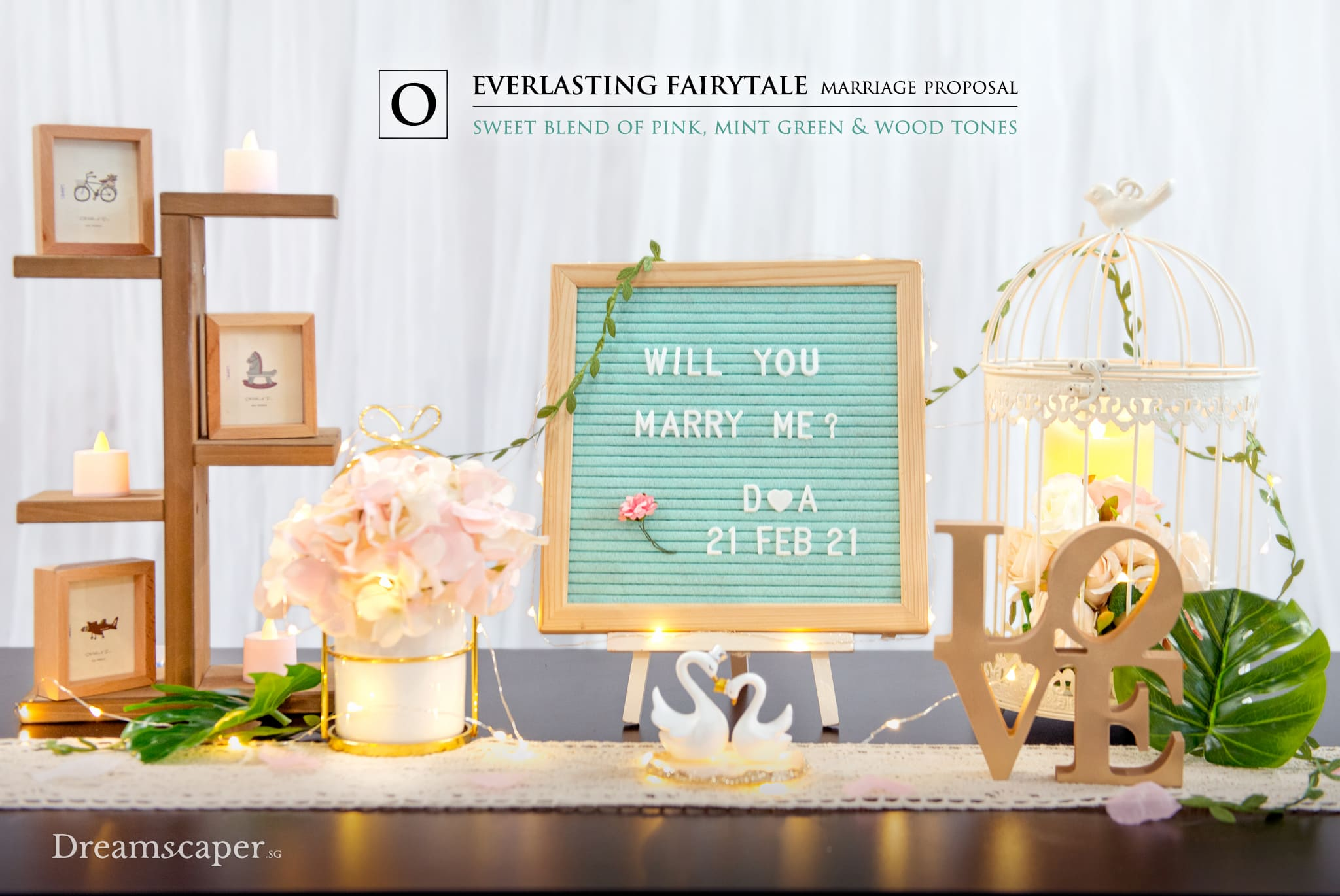 Singapore Marriage Proposal Package - Everlasting Fairytale