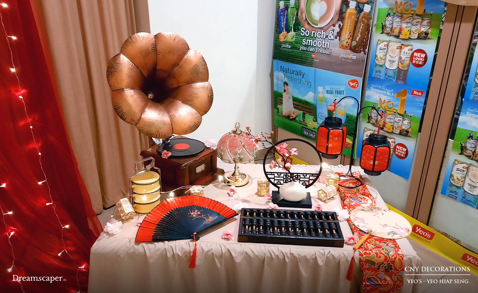 Chinese New Year CNY Decoration Ideas Singapore