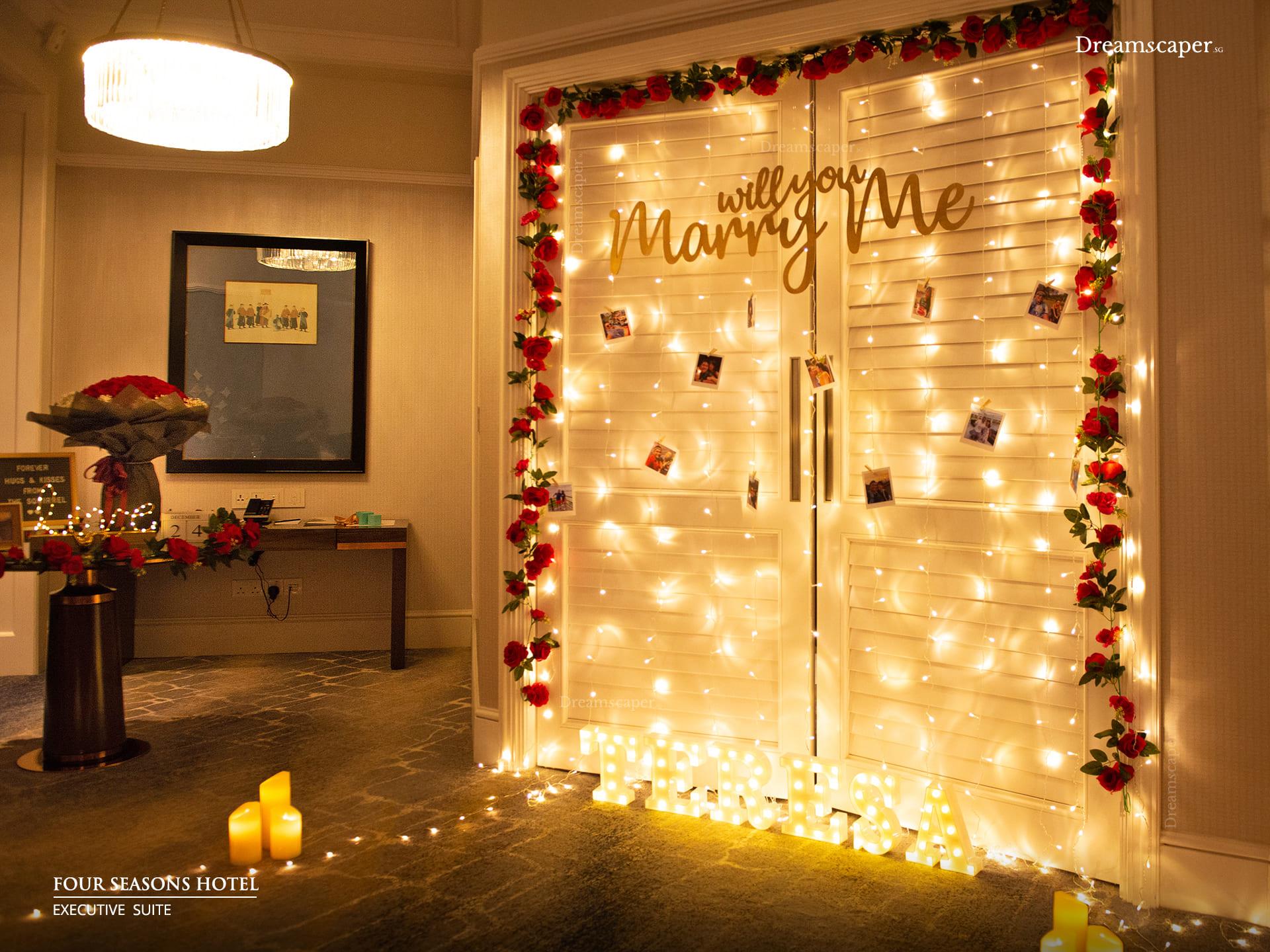 Singapore Marriage Proposal Resort