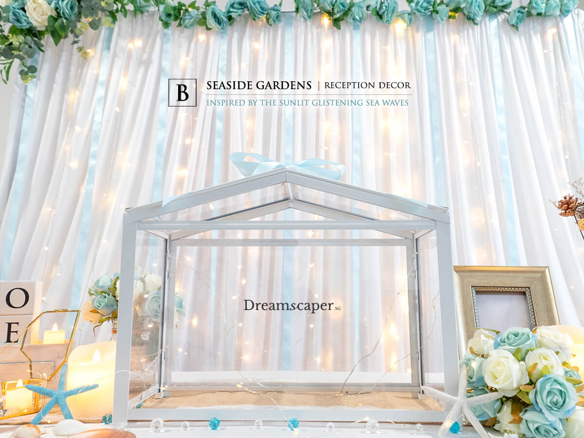Blue Theme Wedding Decor Ideas