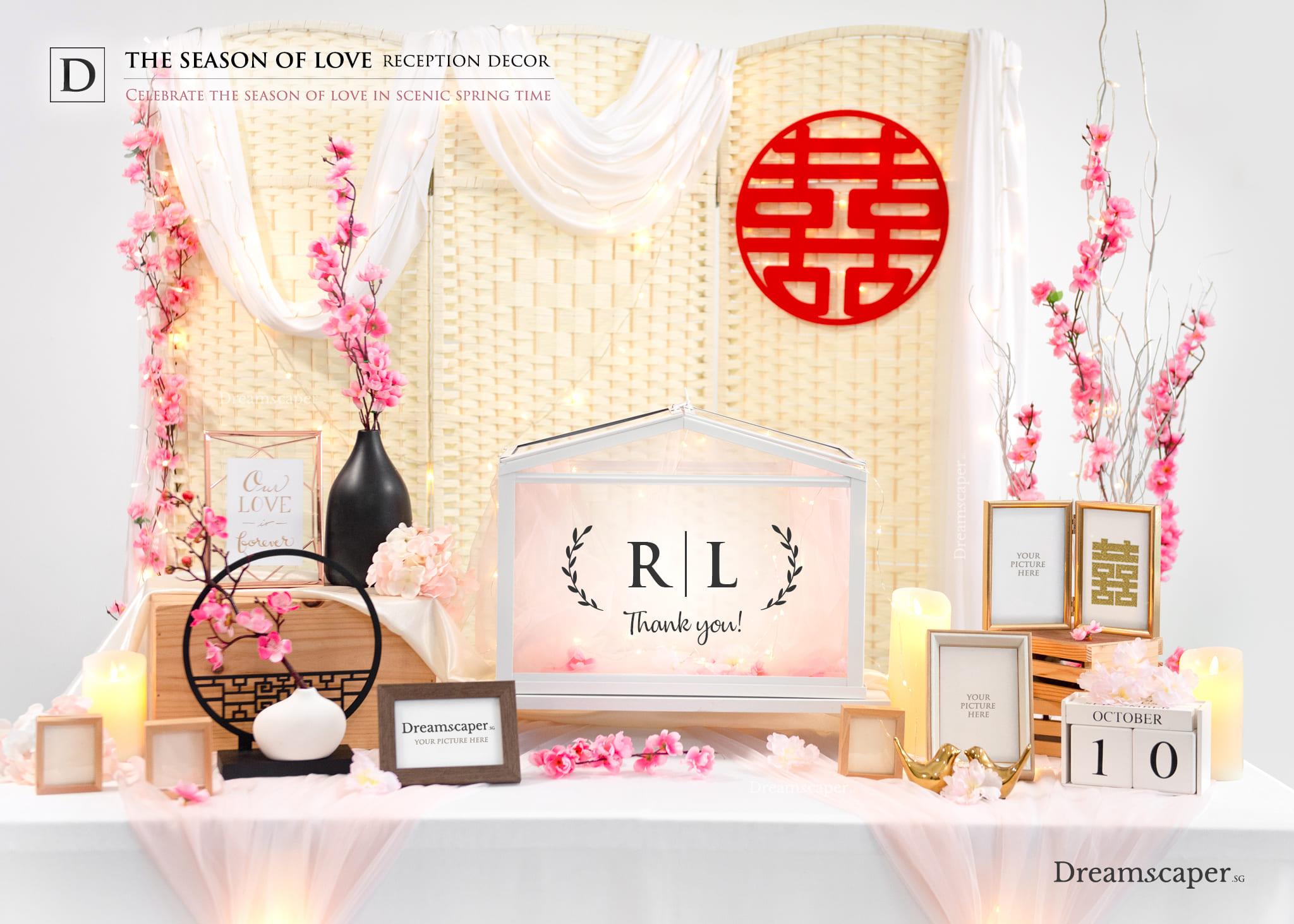 Season Of Love Reception Package Singapore