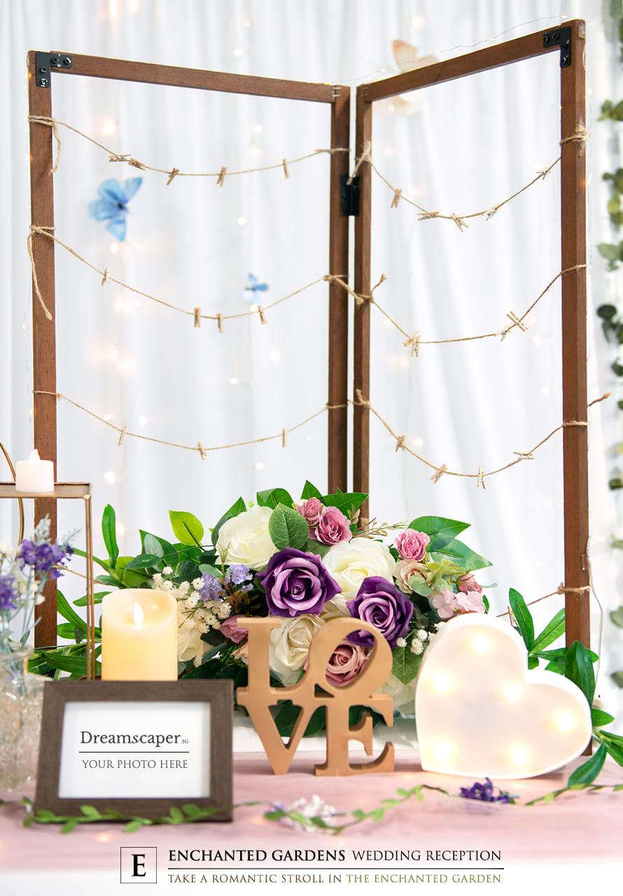 Garden Theme Wedding Decor Ideas