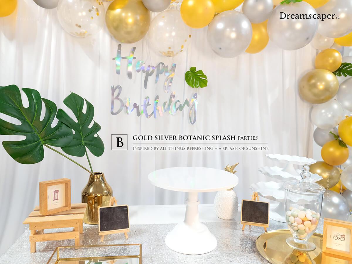 Botanical Theme Party Ideas