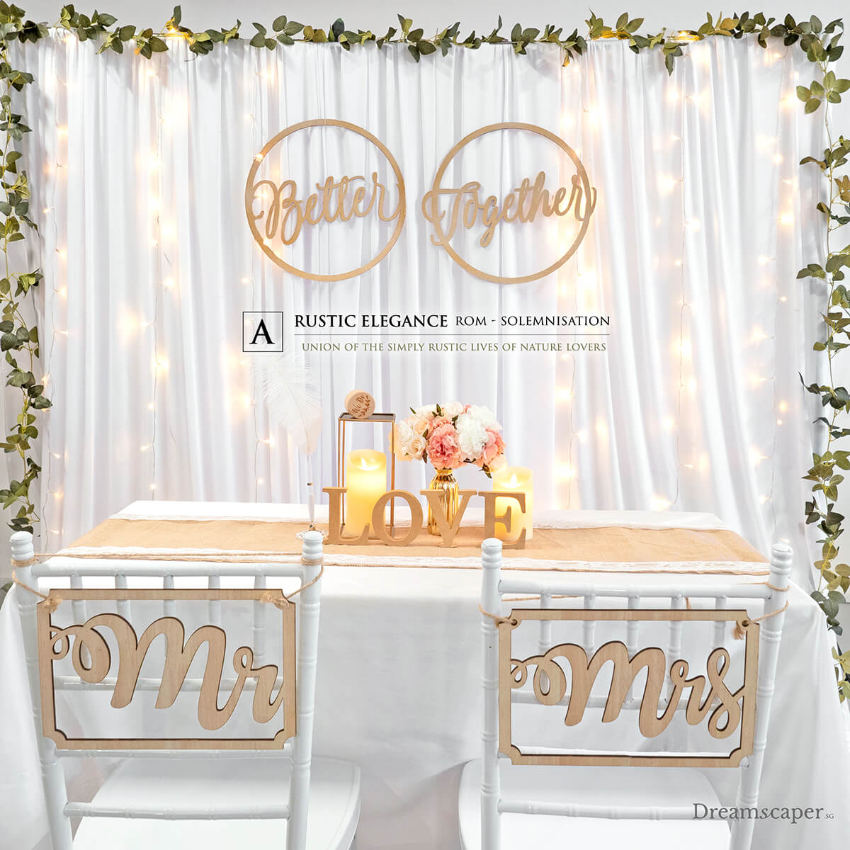 Marriage Solemnisation Decor Ideas