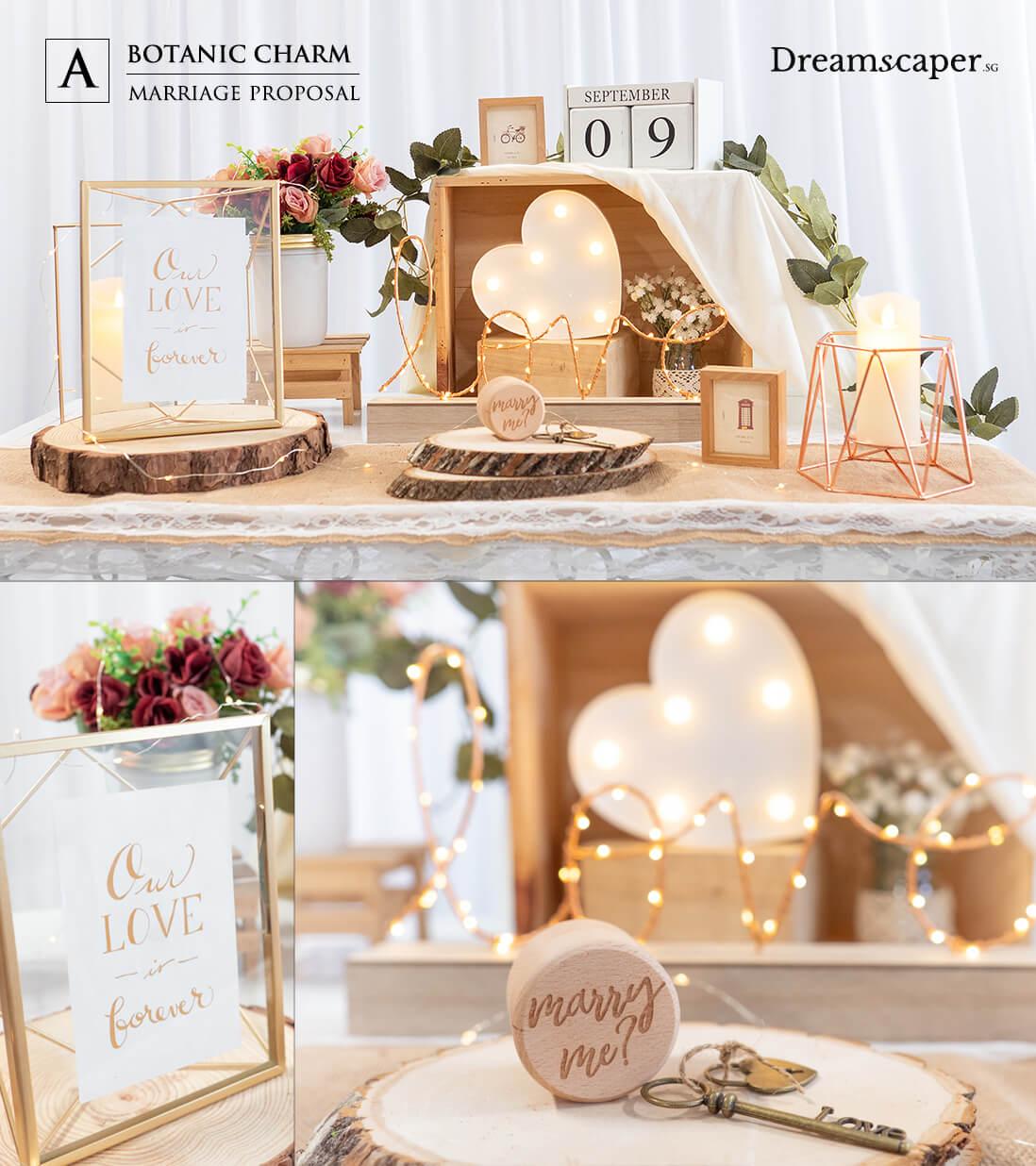 Unique Marriage Proposal - Rustic Romance