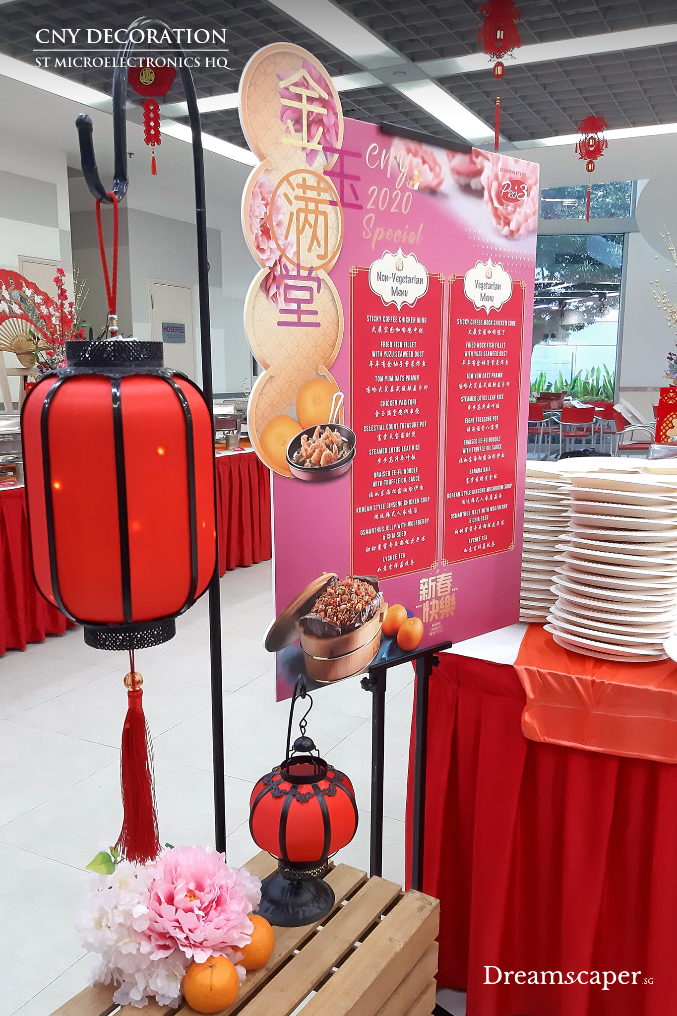Chinese New Year CNY Decoration Ideas Singapore