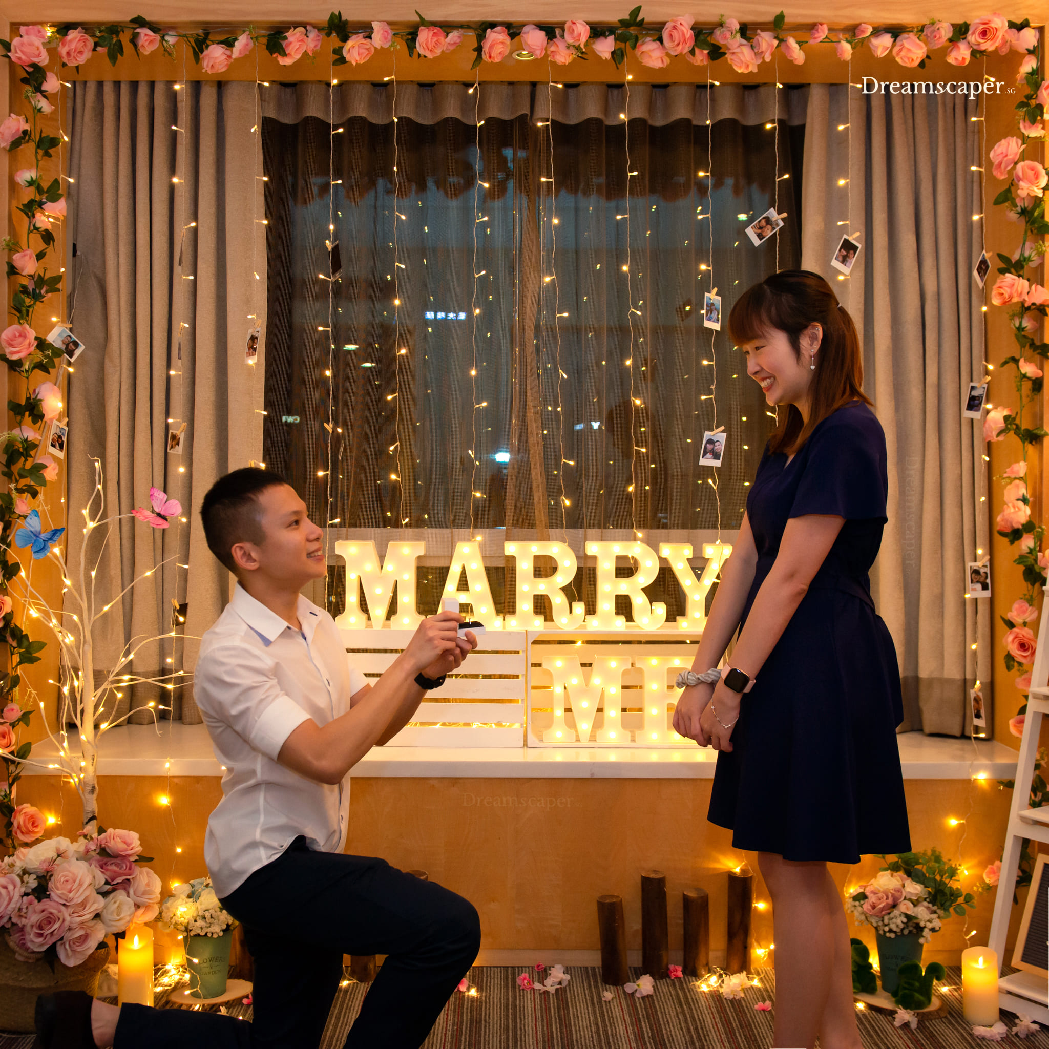 Marriage Proposal in Singapore