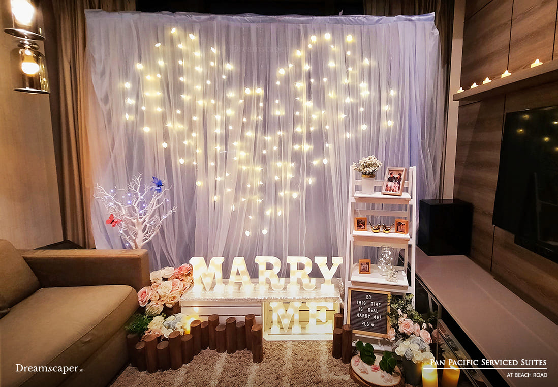 Singapore Marriage Proposal Setup
