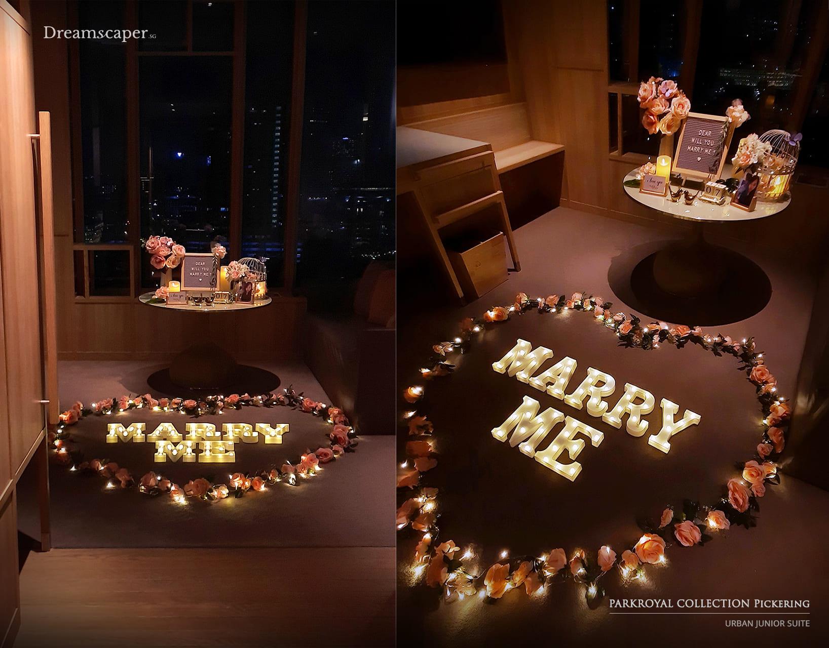 Singapore Hotel Proposal Setup