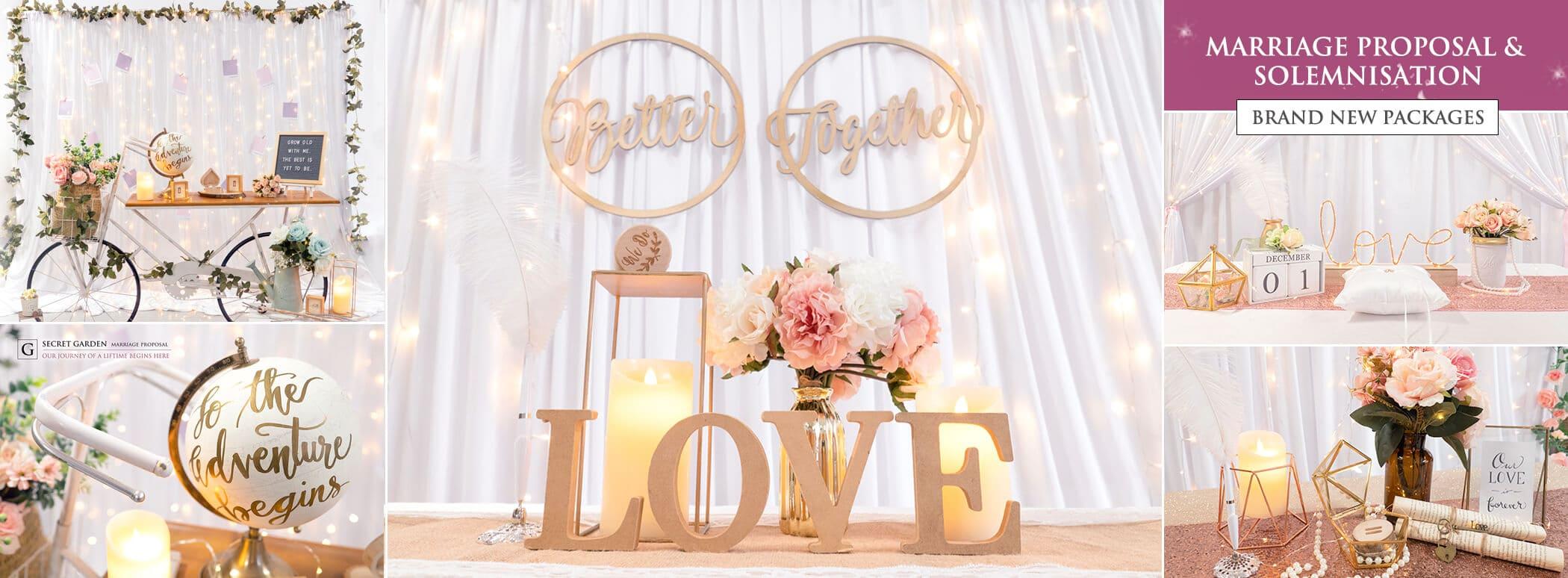 Dreamscaper Sg Singapore Wedding Decor Event Party Prop Rental